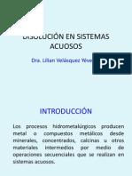 Hidrometalurgia I
