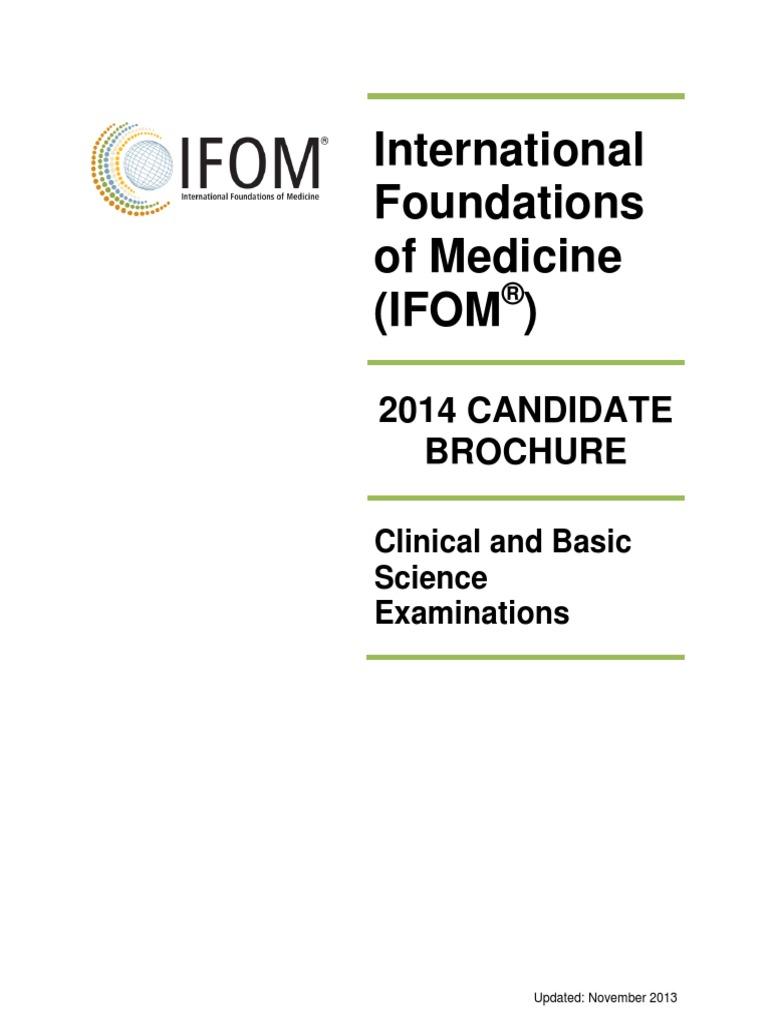 IFOM CandidateBrochure   Identity Document   Test (Assessment)