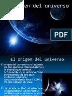 El Origen Del Universo