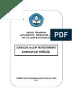 Modul 1 Kurikulum 2013 Dan Profesionalisasi Bk