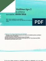 DIABETES MELLITUS GUIA PRACTICA CLINICA ENDOCRINOLOGIA 2014.ppt