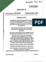 Geology - UPSC Geologist