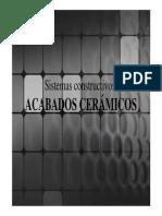 Acabados Ceramicos Presen