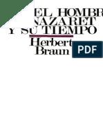 23671675 Braun Herbert Jesus El Hombre de Nazaret y Su Tiempo