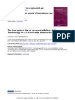 Leiden Journal of International Law - Jus Contra Bellum