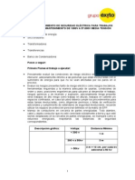 Anexo 4 Procedimiento de Seguridad Electrica Para Trabajos de Mantenimiento a 1000v a 57000 (2)