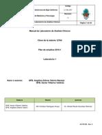 L1-ML-001 Manual de Laboratorio de Analisis Clinicos