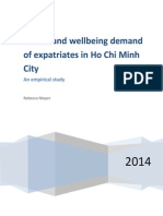 Report-health and Wellbeing Demand of Expatriates in Ho Chi Minh City, Vietnam, by Rebecca