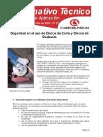 ITC007 - Seguridad en El Uso de Discos Abrasivos