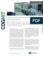 Industrializing and Transforming Bank Operating Models