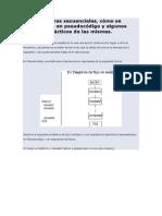 Las Estructuras Secuenciales