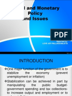 3- PPT on Fiscal and Monetary