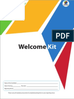 Welcome Kit Wipro