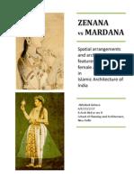 ZENANA vs MARDANA