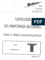 Catalogue Désordres Piles Marteau