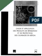 Choix Et Application Des Produits de Réparation Du Béton