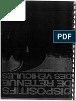 Dispositifs de Retenue Des Véhicules - Conditions d'Agrément