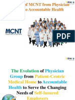 The Evolution of Physician Group From Patient-Centric Medical Homes to Accountable Health