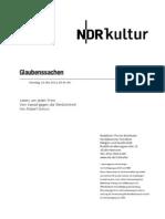 gsmanuskript628 - Norddeutscher Rundfunk Skript