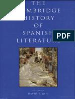 David T. Gies the Cambridge History of Spanish Literature 2005