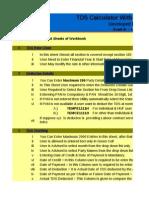 TDS Working Utility - CA Prashant Bhawar