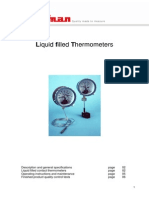 Liquid Filled Thermometers