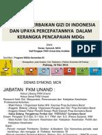 Seminar Program PerbaikanGizi24Mei