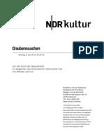 gsmanuskript613 Norddeutscher Rundfunk Skript