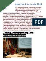 Noticias Uruguayas 7 de Junio 2014