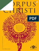Programa Corpus Christi Toledo 2014