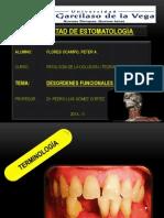 Desórdenes Funcionales Oclusales ( Patología de La Oclusión )