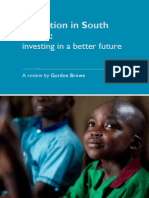 Education in South Sudan Investing in a Better Future1
