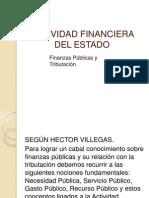 Actividad Financiera Del Estado Tit.