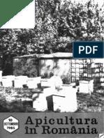 Apicultura in Romania 1985 Nr10 Octombrie