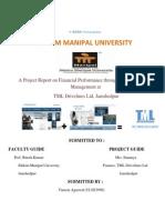 130345573 Finance Project Docx