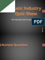 Music Industry Quiz