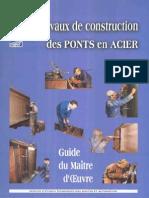 Travaux de Construction Des Ponts en Acier - Guide Du Maître d'Oeuvre