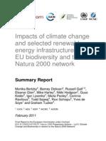 Study NATURA 2000 Si Energia Alternativa
