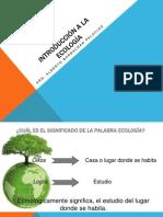 Clase 01- Introduccion a La Ecologia