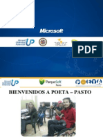 Presentacion de Matriculas POETA ParqueSoft Pasto