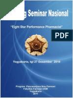 Prosiding Seminar Nasional Eight Star Performance Pharmacist
