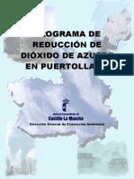 Programa Reduccion So2 Puertollano
