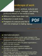 Changing Landscape of Work