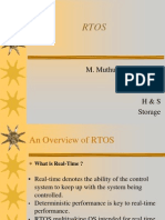 Overview of RTOS