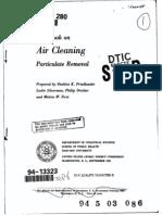 Handbook of Air Cleaning