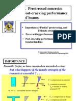 Prestressed Concrete - 2 Post-cracking Performance of Beam