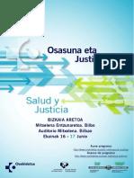 Salud Justicia Castellano