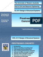 Prestressed Concrete - 1 Introduction
