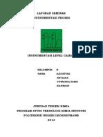 Laporan Instrumentasi Level Cairan