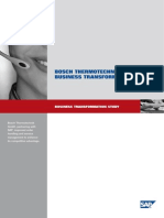 BOSCH THERMOTECHNIK GmbH – Business Transformation Study